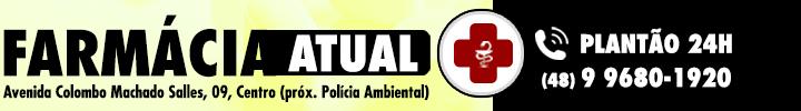 Farmácia Atual - Plantão 24h