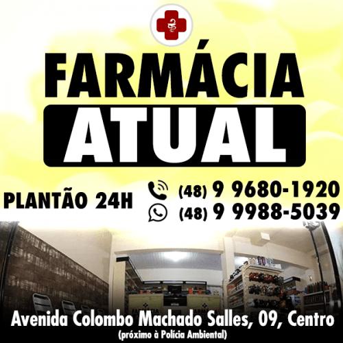 Farmácia Atual | PLANTÃO 24 HORAS